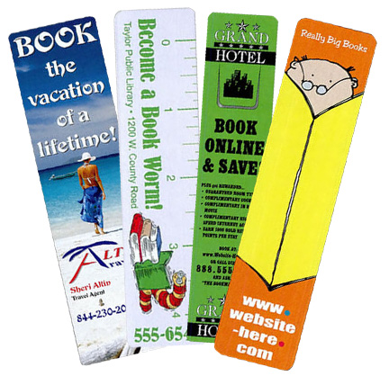 Custom Paper Bookmarks